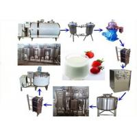 Wholesale UHT Milk Processing Equipment , Pasteurized Milk Processing Line 500L1000L 2000L from china suppliers