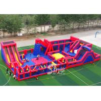 Wholesale 30x15m kids N adults big indoor inflatable theme park for indoor inflatable playground fun from china suppliers