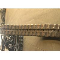 36 Link Rubber Excavator Tracks , Replacement Rubber Tracks For Excavators for sale