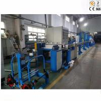 China 50MM PE Wire Extrusion Machine With ABB , Siemens Motor Energy Saving for sale