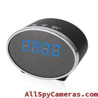 Wholesale 1080P 5MP Pixels 140 Degree Wifi Spy Alarm Clock Camera Motion Detection For Android and IOS from china suppliers