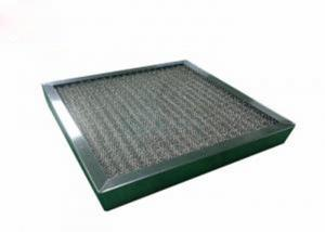Wholesale Washable High Temperature Pre Air Filter Corrosion Resistant With SUS Frame from china suppliers
