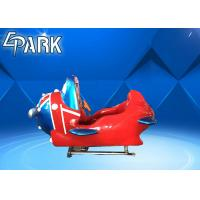 Wholesale British Style Plane Arcade Kids Coin Operated Game Machine Front And Rear Bevel 12° from china suppliers