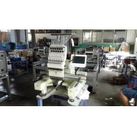 China Computer Control Single Head Embroidery Machine With Flat And Garments Function for sale