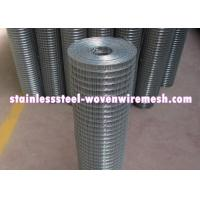 Wholesale Durable Stainless Steel Welded Wire Fabric , Stainless Steel Wire Mesh Panels from china suppliers