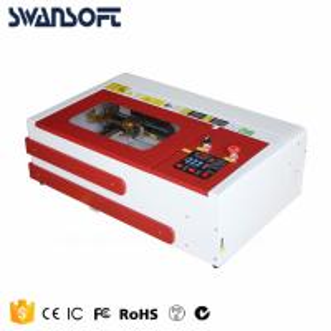 China Desktop mini laser engraving cutting machine 3020 for fiber wood glass acrylic plastic on sale