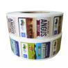 Adhesive Custom Printed Custom Product Labels Waterproof On Rolls For Food Packaging for sale