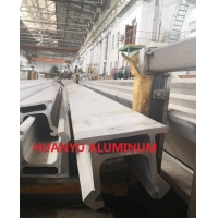 Buy cheap T6 7020 Hydraulic Aluminium Extruded Profiles 3300MM Length from wholesalers