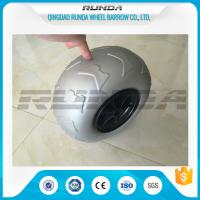 Wholesale 9 Inch Pneumatic Rubber Wheels PP Rim , Balloon Hand Truck WheelsWithout Bearing from china suppliers