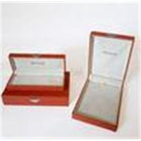 UV Plastic with Leather or Cardboard Gift Jewelry Set Boxes for earring for sale