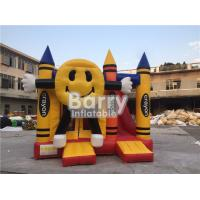 Wholesale Colorful Smiling Inflatable Happy Face Crayon Combos With Digital Printing from china suppliers