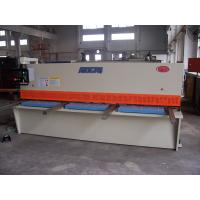 Quality Steel Plate Shearing Machine With CE And ISO Certificate , Shear Cutting Machine for sale