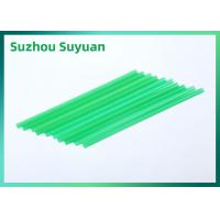 China Green PLA Drinking Straws , Compostable Drinking Straws For Beverage on sale