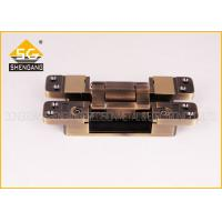Wholesale 3D Invisible Hinges Exterior Door Three Way Hinge , Hidden Hinges For Cabinets from china suppliers