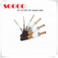 Buy cheap Coaxial Cable 1/2 3/4 7/8 RF Feeder Cable For Telecom RoHS Approval from wholesalers