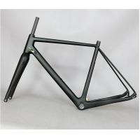 Wholesale Lightweight Carbon Cyclocross Frameset , Road Cx Disc Brake Cyclocross Frame And Fork from china suppliers