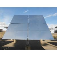 China Clear Glass 4mm Tower CSP Solar Mirror Custom High Reflective , Water Resistance Mirror for sale