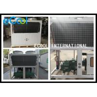 Central Air Conditioning Freezer Condensing Unit Wide Temperature Range for sale