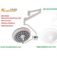ZW-500DW Wall Mounted Operation Theater Llight Distributed Single Dome LED for sale