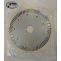 Wholesale 115mm Diamond Hot Pressing Turbo Saw Blade for Cutting Ceramic Tile from china suppliers