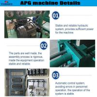 Wholesale high efficiency apg epoxy resin clamping machine for high current bushings from china suppliers