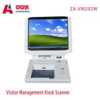 Wholesale Hotel Payment White Touch Screen Desktop Visitor Management  15 inch from china suppliers