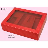 Wholesale Promotional Offset Printing Cosmetic Packaging Boxes With PET Window,Custom Designed Cosmetic Packaging Boxes from china suppliers
