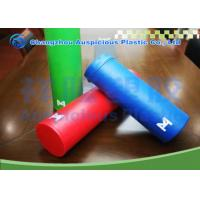 China Exercise use PU Leather Cover Epe Foam Roller with customized color for sale