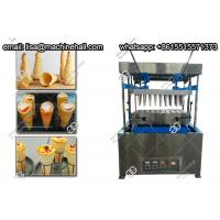 China Electric Pizza Cone Forming Machine 15cm Stainless Steel Pizza Cone Machine For Sale on sale