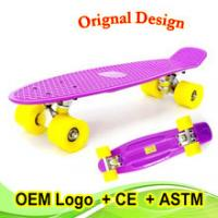 Best best Christmas gift customed color fish skateboard for kids wholesale