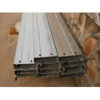 Wholesale Automatic Drilled Holes Steel Building Purlins, Cold Rolled Steel C Purlin from china suppliers