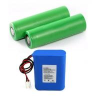 Wholesale High Drain 18650 Li Ion Battery 1S1P For Shaver / Track Device , 18*65mm from china suppliers