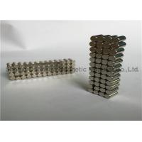 Wholesale N33 - N52 Strong Rare Earth Sintered Neodymium Magnets Cylinder With Nickel Coated from china suppliers