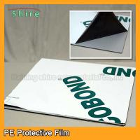 China Medium Adhesive Strength Sheet Metal Protective Film 30M - 2000M Width on sale