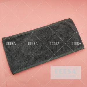Wholesale Custom Logo Grey Matic Stick Beauty Spa Hair Salon Headscarf Head Wrap Towel from china suppliers