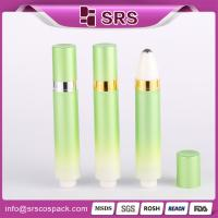 Wholesale new desigh 1/3oz 10ml eye cream eye roll on bottle with outer spring pump from china suppliers