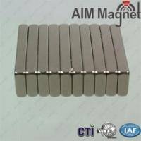 Wholesale Custom Size Power Permanent Sintered Neodymium Magnet block 26x14x4mm from china suppliers