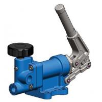 China Blue Low Speed Hydraulic Hand Pump For Quick Oil Output 10000psi 70Mpa on sale