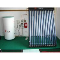 Supply Heat pipe pressurized solar water heater (CE, ISO, CCC etc Certificate Approved) for sale