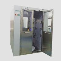 China Air in shower for working staff air shower for ISO 8 clean room with double door on sale