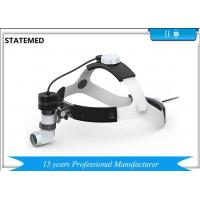 3W Rechargeable Double Battery Medical Headlamp ENT Headlight Dental Headlight for sale