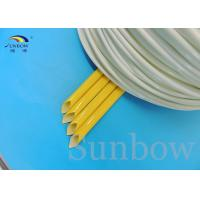 Silicone Rubber Braided Fiberglass Sleeving Silicone Fiberglass Sleeving