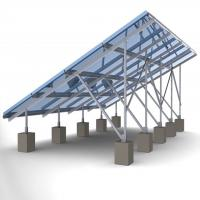 Wholesale 60m/s Solar Panel Ground Mounting Systems For Photovoltaic PV Array SGS Approved from china suppliers