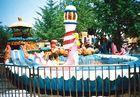 Best 380V,  13.25 KW and 8 Persons Slide Mini Log Flume Rides,  40.5m Track length wholesale
