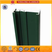 Wholesale Square Green Powder Coated Aluminum Alloy Extrusion With Strong Stability from china suppliers