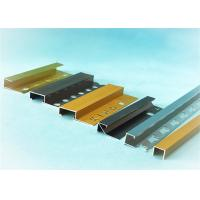 Wholesale Polishing Aluminium Trim Strip For Ceramic Border , 0.7mm -  2.0mm Thickness from china suppliers
