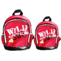 Wholesale Personalised Designer School Bags Backpacks ,Red Folding backpack from china suppliers