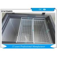China -25 Degrees Deep Chest Type Freezer / Medical Grade Freezer For Fresh Vegetables for sale