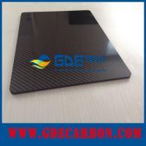 China Glossy Twill Woven 3K carbon fiber broad, carbon fiber panel, carbon fiber sheet on sale