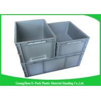 Wholesale Standard Plastic PP Industrial Storage Bins , Reusable Plastic Stacking Boxes from china suppliers